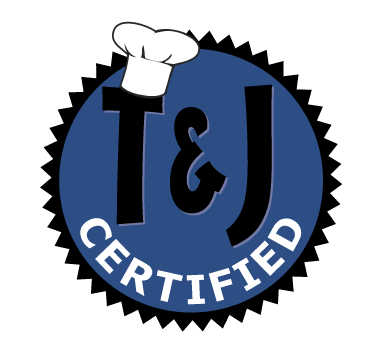 T and J Restaurant Equipment Certified Used Equipment Seal